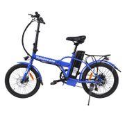 Vélo électrique Velobecane work Bleu