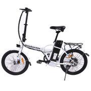 Vélo électrique Velobecane work blanc