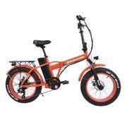 Vélo électrique Velobecane Snow rouge