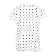 Tee-shirt Blanc à Pois Fille Name It Dafna