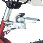 Fixation pour remorque vélo sur collier de tige de selle