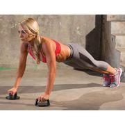 Iron Gym Poignée de push-up rotative 2 pcs Noir IRG043