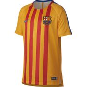 Nike Maillot De Football Barcelone Training 2017-18 Jaune Maillot Club Enfant Football