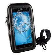 Support de vélo universel pour smartphones Muvit noir (jusqu'à 6,2 pouces)