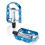 Pédales XLC Ultralight V PD-M15 argent bleu