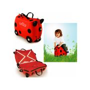 Valise à roulettes Trunki Harley Coccinelle