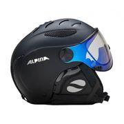 Alpina - Jump JV Varioflex casque de ski (noir)