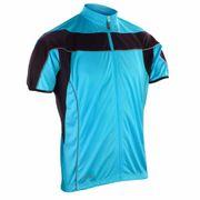 Maillot vélo cycliste Homme - S188M - bleu - full zip