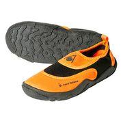 Chaussures de natation Aqua Sphere Beachwalker orange noir enfant