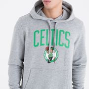 Sweat à capuche New Era avec logo de l'équipe Boston Celtics