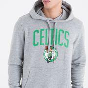 Sweat à capuche New Era avec logo de l'équipe Boston Celtics