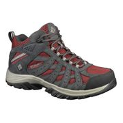 Chaussures Columbia Canyon Point Mid Waterproof rouge gris femme