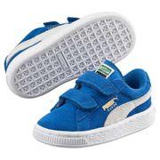 Chaussures Puma Ps Suede 2 Straps - Snorkel Blue / Puma White