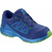 Salomon - Xa Elevate Cswp Enfants chaussure de course (bleu/vert)