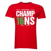 Portugal Euro Champions T-Shirt (rouge)