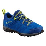 Chaussures Columbia Youth Venture bleu marine jaune enfant