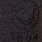 Manchester City FC officiel - Pantalon de jogging avec coupe ajustée - thème football/motif blason/polaire - garçon