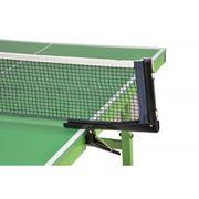 Table de Ping Pong pliable - Verte aux pieds verts, 135 x 76 x 73cm