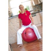 Sissel Ballon d'exercice Securemax 65 cm Rouge SIS-160.009