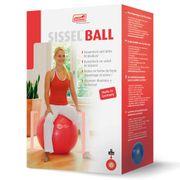 Sissel Ballon d'exercice 75 cm Rouge SIS-160.065