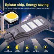 Lampe solaire HD40W IP65 Imperméable Capteur Radar + Contrôle de la Lumière Solaire de la Puissance de la Lumière de Rue, 80 Led