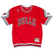T-shirt M&N Nba Authentic shooting Chicago Bulls