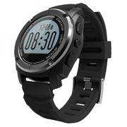 Montre sport intelligent GPS, podomètre / fréquence cardiaque / pression / température / hauteur / Auto LAP / rappel Sédentaire