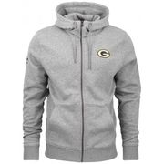 Veste Zippé NFL Greenbay Packers New Era Team Apparel Number Gris pour homme taille - L
