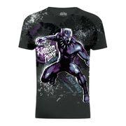 Marvel - T-shirt Black Panther 'Warrior King' - Adulte mixte