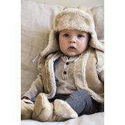 BARTS-Cagoule en polaire Bébé Fille rose framboise du 1 au 3 ans Barts