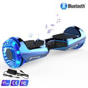 Hoverboard Colorway CX911 - Bluetooth + APP - 6.5 Pouces Bleu, Gyropode Overboard Smart Scooter certifié
