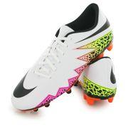 Nike Hypervenom Phade 2 Fg blanc, chaussures de football homme
