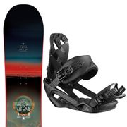 SALOMON Pulse Snowboard+Rhythm Fixations Homme