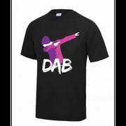 Maillot - Tee shirt DAB enfant noir Taille de 7 à 13 ans