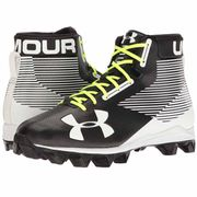 Crampons de Football Americain Under Armour Hammer 2017 Mid RM Noir / Blanc Pointure - 41