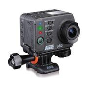 Caméra HD S60 d'AEE avec une perche et un adaptateur