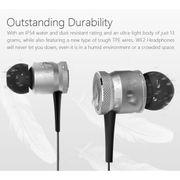 Écouteur avec Bluetooth-JAKCOM WE2 Sports écouteurs sans fil portables Bluetooth 4.1 sans fil avec microphone (Gris)