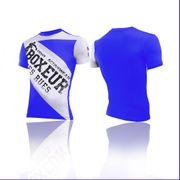 T-shirt col rond Boxeur des rues coupe ajustée