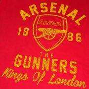 Arsenal FC officiel - T-shirt thème football - imprimé à paillettes - femme