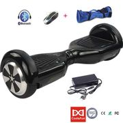 6.5 pouces Hoverboard Cool&Fun Bluetooth Electric Self Balance Scooter Noir