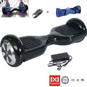 6.5 Hoverboard Cool&Fun Gyropode Electric Skateboard Noir