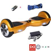 Gyropode Cool&Fun Hoverboard skate �lectrique 6.5 pouces Golden
