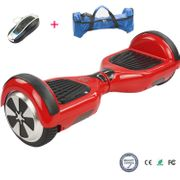 Hoverboard Cool&Fun Electric Skateboard 6.5 Rouge + Sac de transport