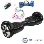 Hoverboard Cool&Fun 6.5 Bluetooth Self Balance Electric Skateboard Noir