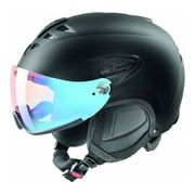 Uvex - Uvex Hlmt 300 Visor Vario casque de ski (noir)