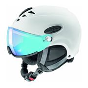 Uvex - Uvex Hlmt 300 Visor Vario casque de ski (blanc)