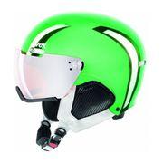 Uvex - Uvex Hlmt 500 Visor Chrome Ltd casque de ski (vert)