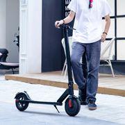 Trottinette électrique patinette Pliable S5 - Batterie LG - Lumières LED - Future Design - Ultra légère - Ecran LCD scooter