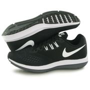 Nike Zoom Winflow 4 noir, chaussures de running homme