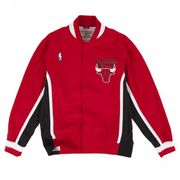 Warm up NBA Chicago Bulls 1992-93 Mitchell & Ness Authentic Jacket Rouge pour Homme taille - S
